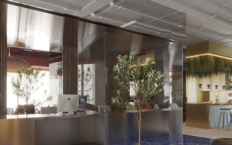 Urban HQ Reception
